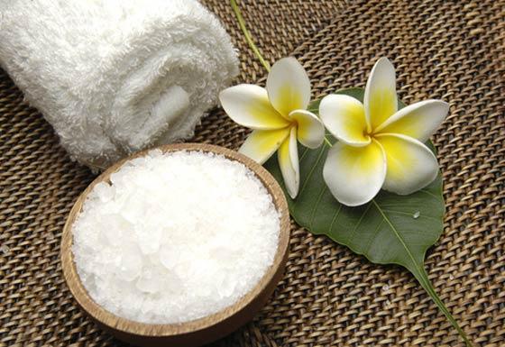 frangipani body scrubs
