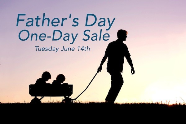 father's day one day sale