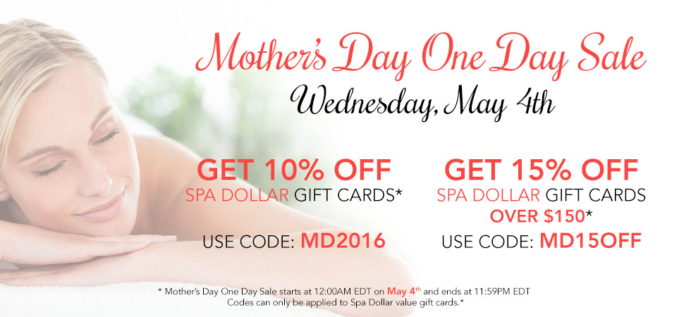 mother's day one day sale
