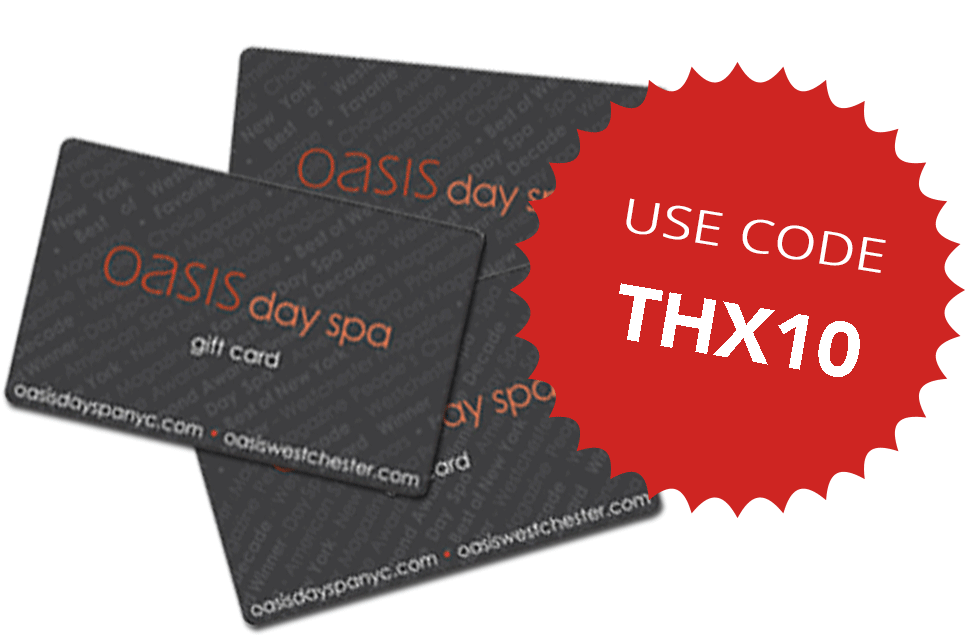 code thx10 for 10% off spa dollar gift cards