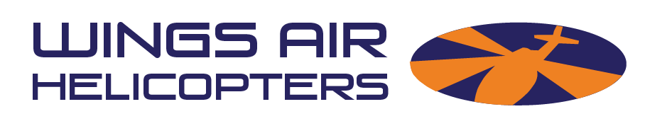 wings air helicopters logo