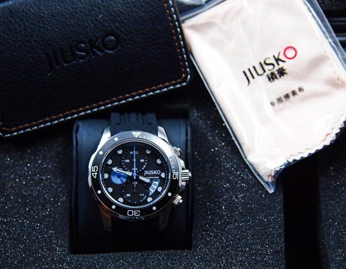 jiusko men's deep sea series sports watch