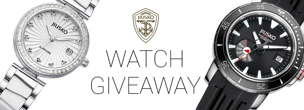 oasis jiusko watch giveaway
