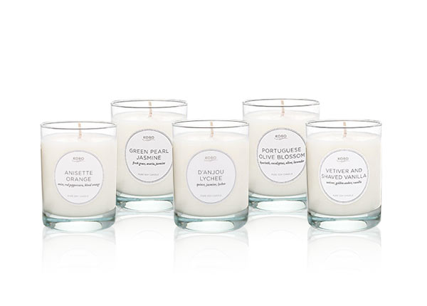 assorted kobo candles