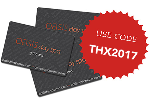 thx2017 for 10% off spa dollar gift cards with a purchase of $100 or more