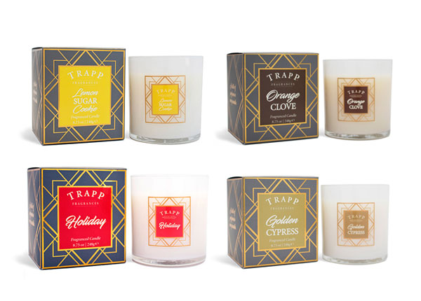 trapp holiday candles