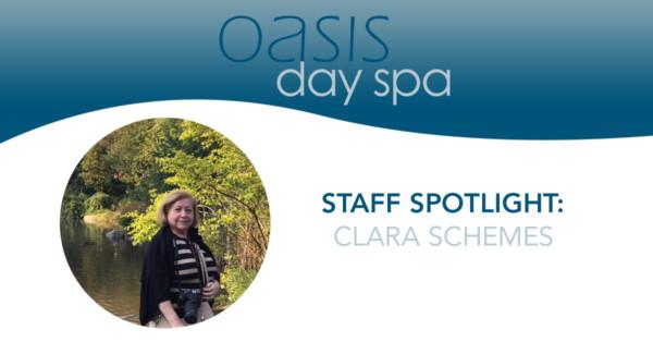 oasis staff spotlight: clara schemes