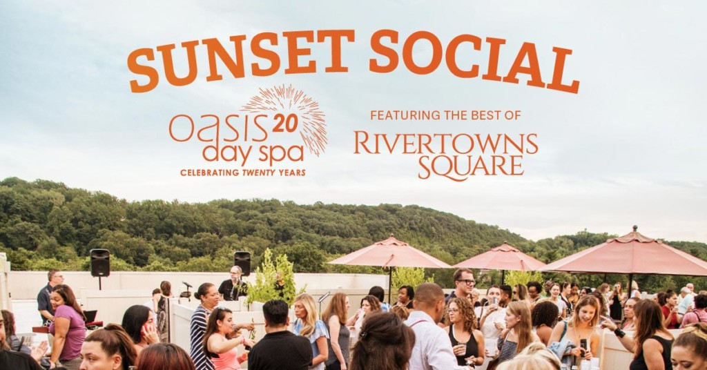 sunset social. august 16th from 7PM to 10PM