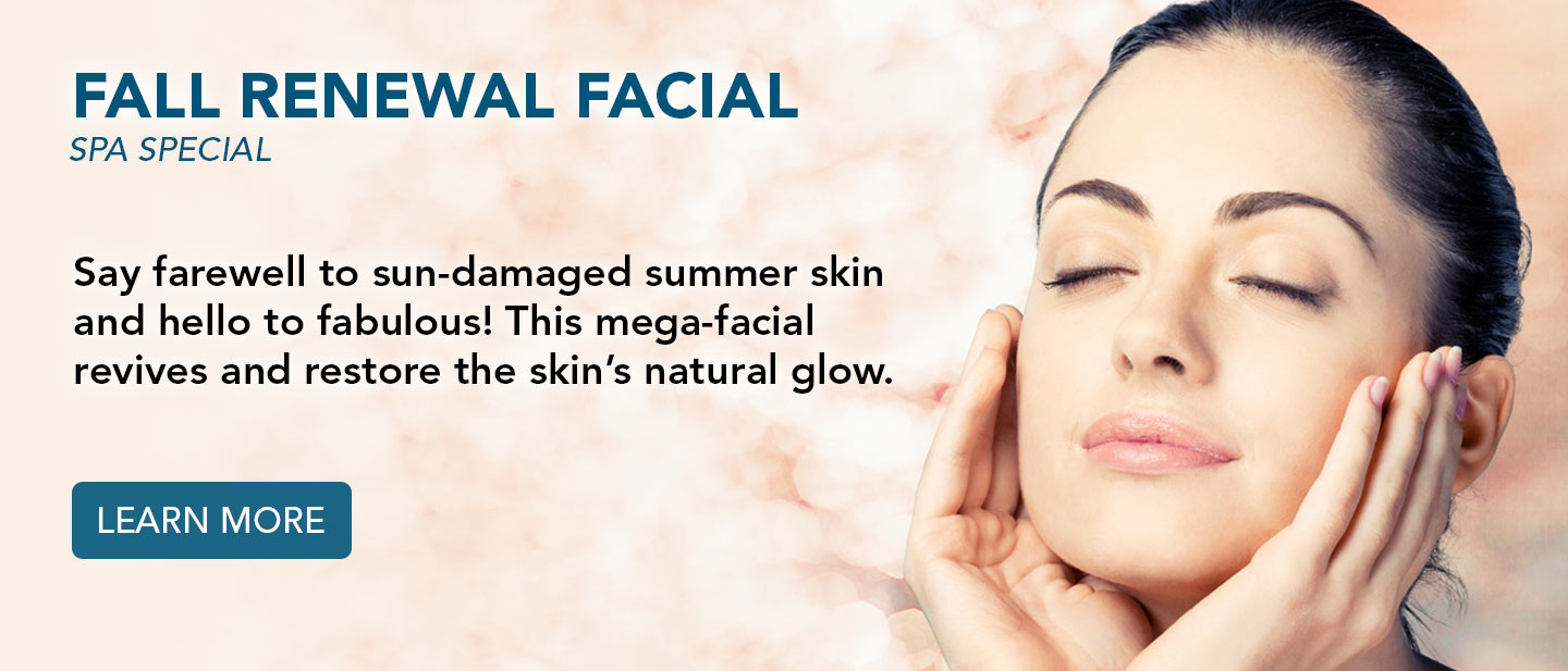 Fall Renewal Facial Spa Special