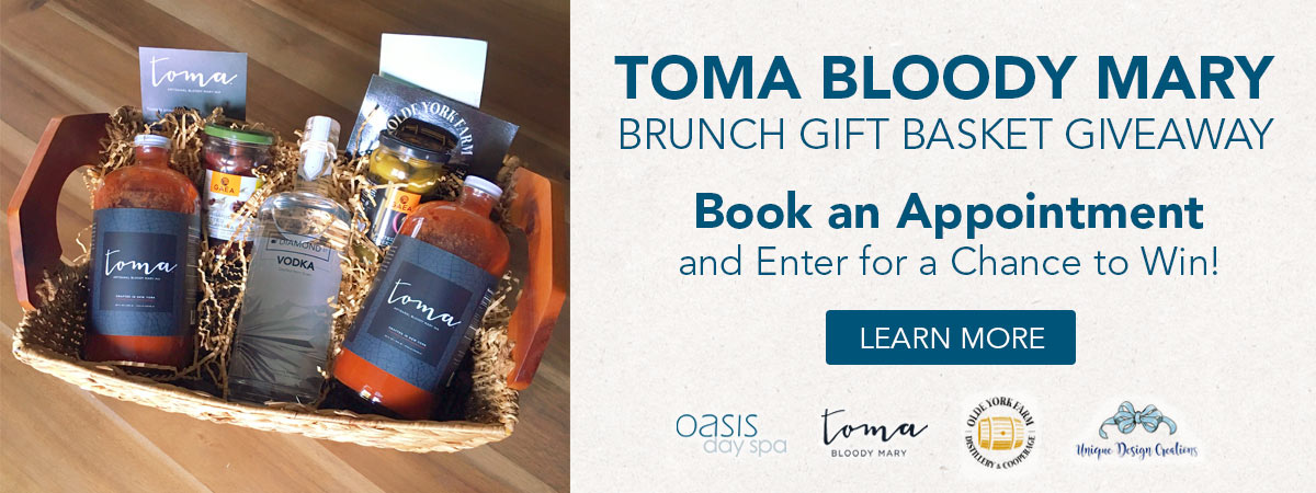 toma bloody mary brunch gift basket giveaway. learn more.
