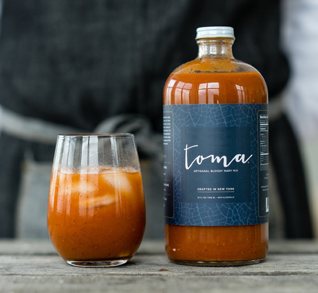 toma bloody mary cocktail