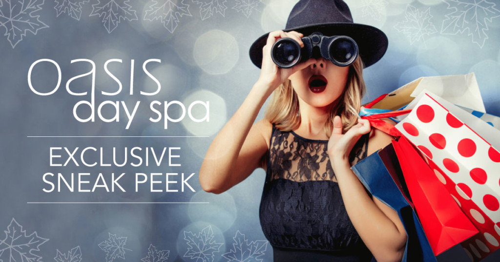 Oasis Day Spa Exclusive Sneak Peek