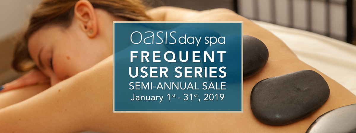 Oasis Frequent User Series Semi-Annual Sale