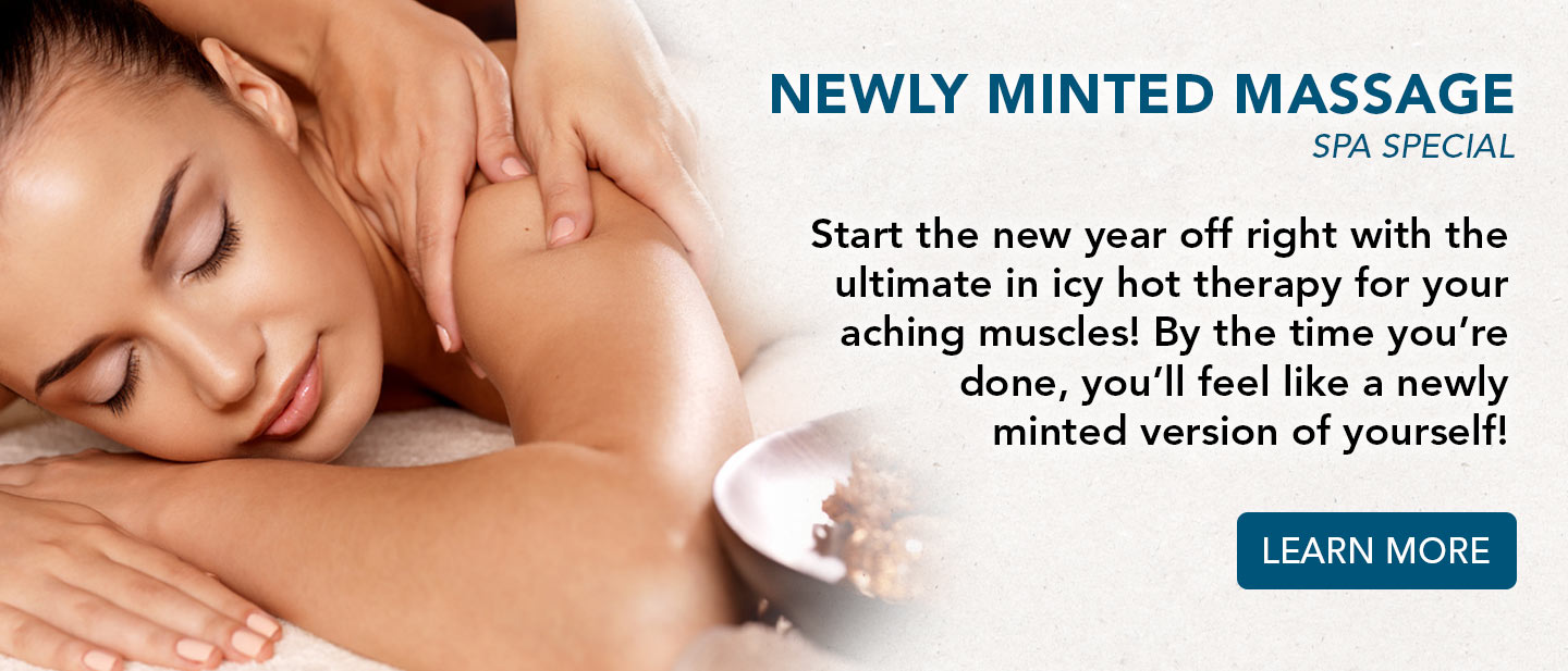 Newly Minted Massage Spa Special