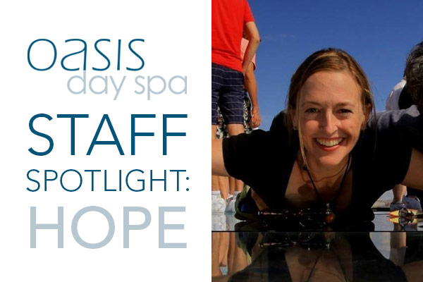 Oasis Staff Spotlight: Hope Tarr