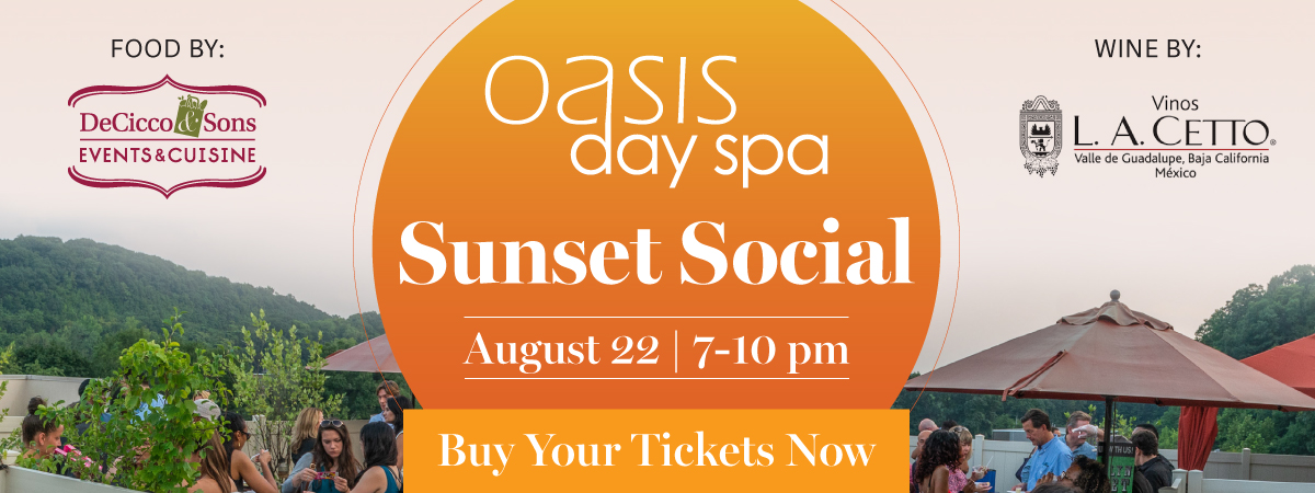 sunset social. august 22nd from 7PM to10:00PM