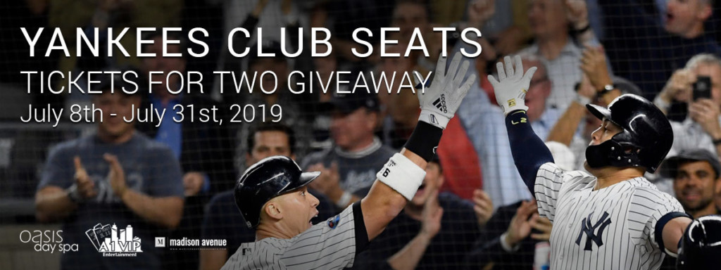 Yankees Club Seats Giveaway