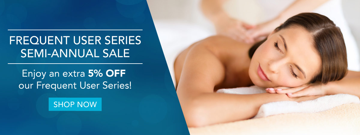 Enjoy an extra 5% Off Frequent User Series