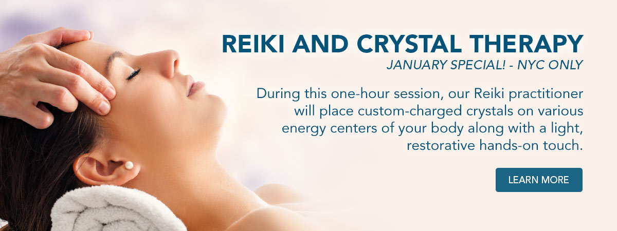 Reiki and Crystal Therapy January Special. Learn More!