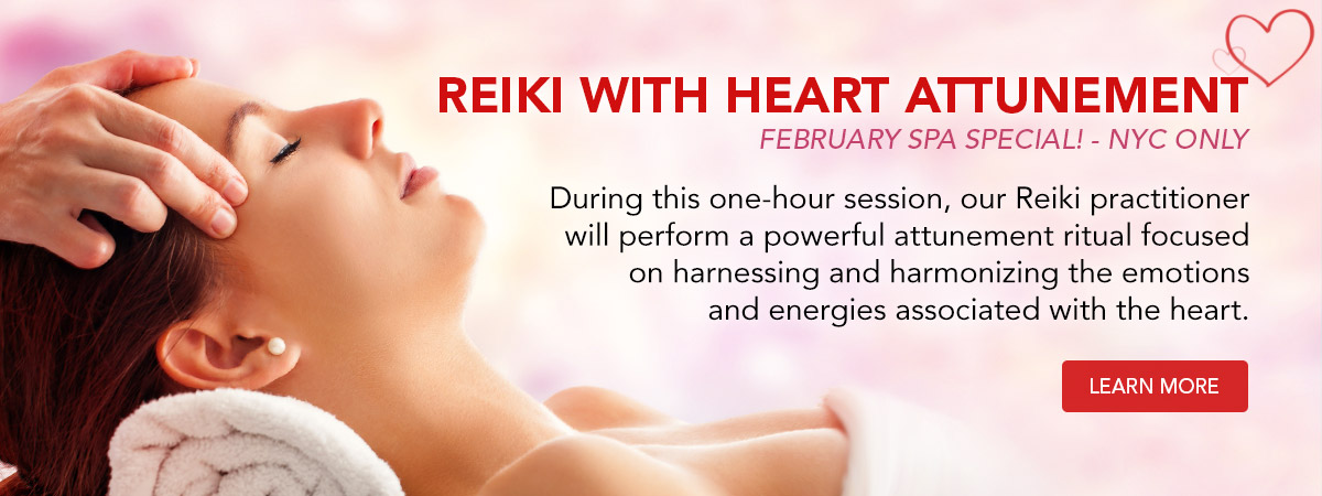 Reiki with Heart Attunement February Wellness Special. Learn More!