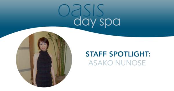 Oasis Staff Spotlight: Asako Nunose