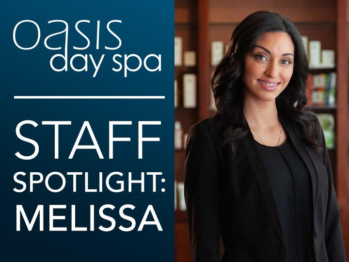 Oasis Staff Spotlight: Melissa