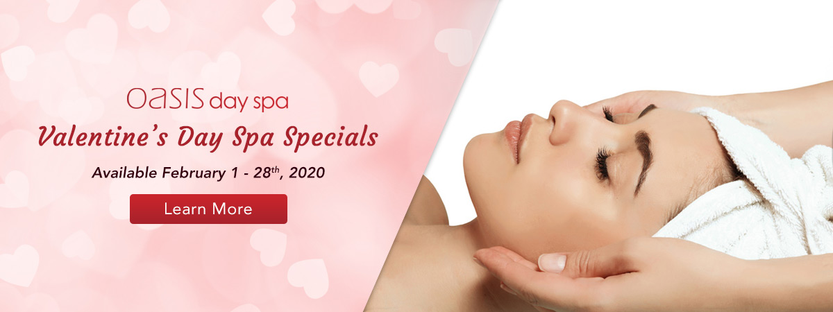Valentine's Day Spa Special All Month Long! Learn More